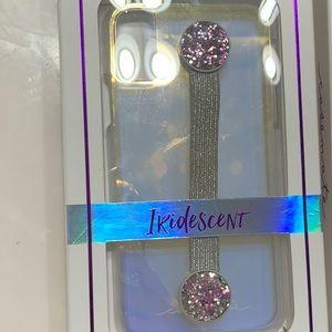 iPhone X Casemate Iridescent case